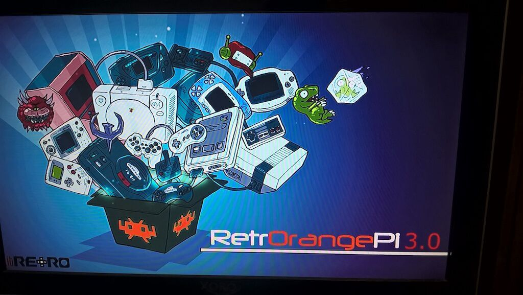 RetrOrangePi booting